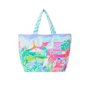 Lilly Pulitzer Destination KAIWAH TOTE bag